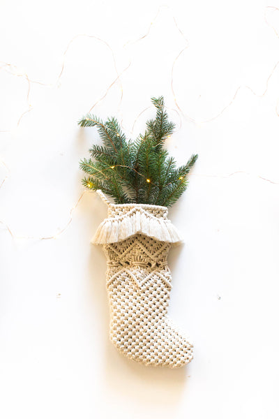 Macrame Stocking II