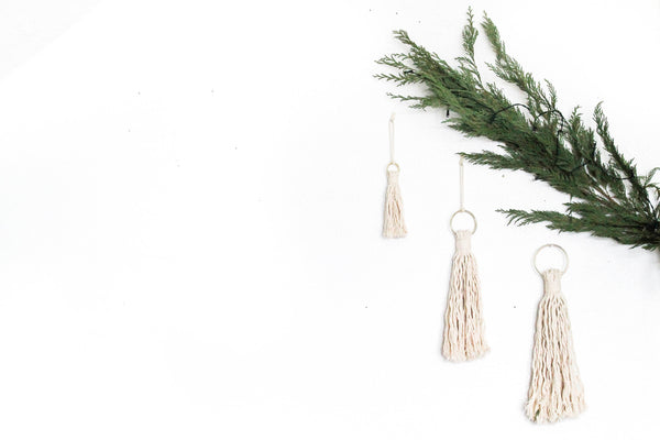 Tassle Ornaments