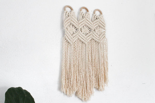 Echo Wall Hanging with Rings