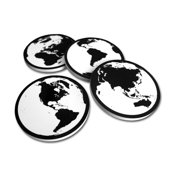 Coasters - White Set