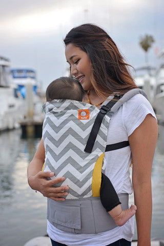 Tula Toddler Carrier - Gray Zig Zag