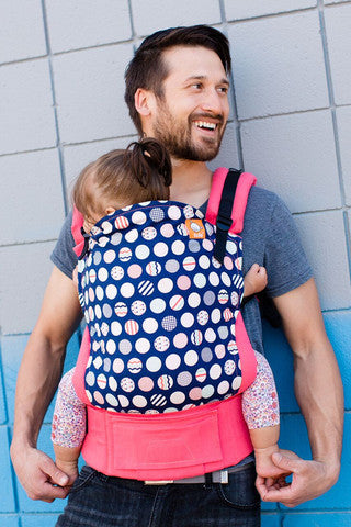 Tula Toddler Carrier - Trendsetter Coral