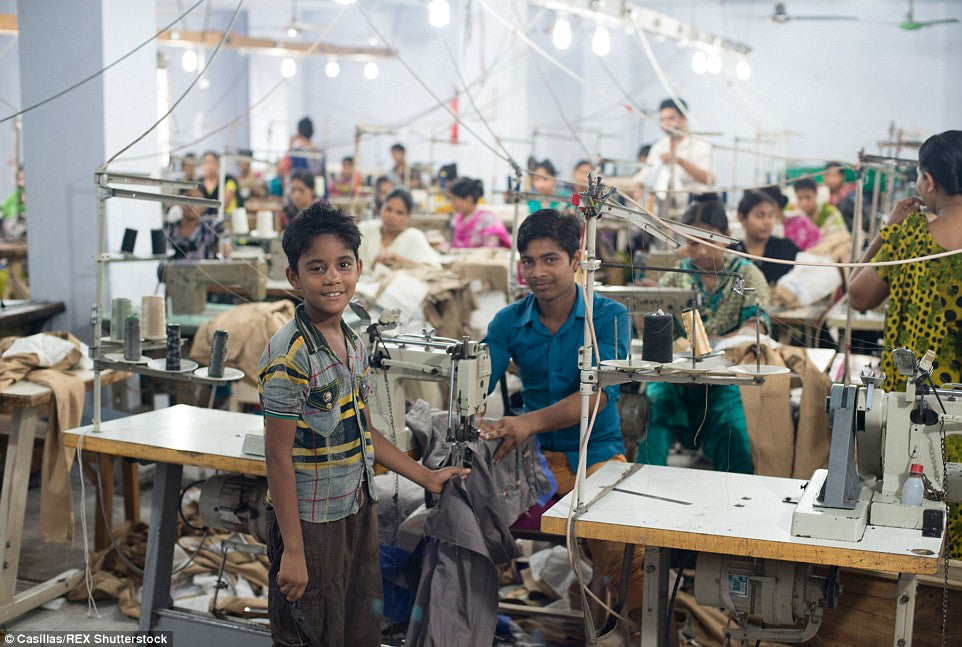 Child Labour in a Factory