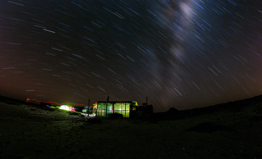 Stars while Camping
