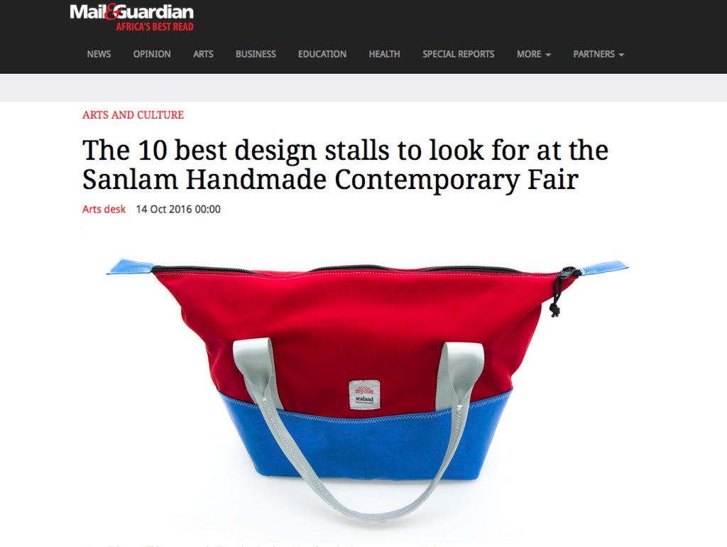 Sealand Gear Feature on Mail & Guardian website