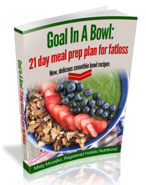 3 Week Fat Loss Challenge: Goal in a (smoothie) Bowl.