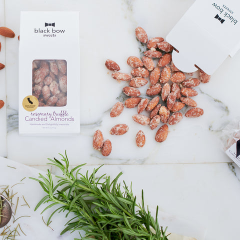 Rosemary Truffle Candied Almonds