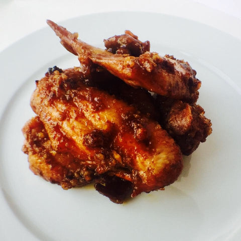 Candied Pecan Sweet & Savory Wings