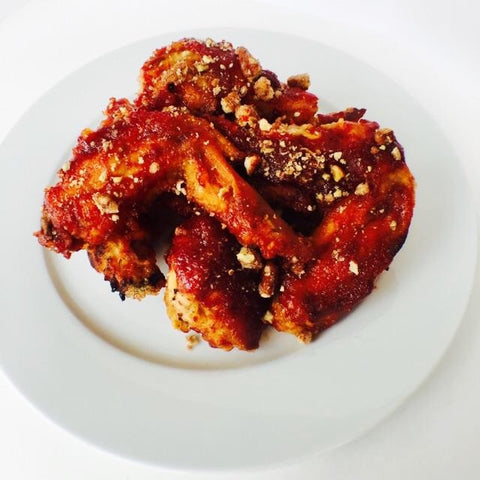 Candied Pecan Sweet & Spicy Wings