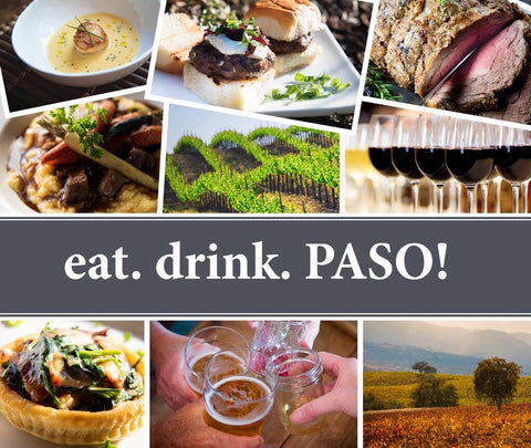Eat Drink Paso Cook Book