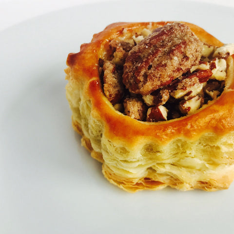 Mini Pastry Candied Pecan Pie