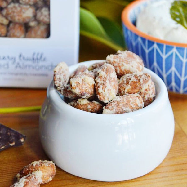 Rosemary Truffle Candied Almonds Bulk
