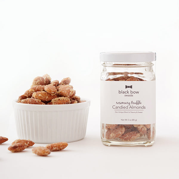 Rosemary Truffle Candied Almond Jar (Case of 6)