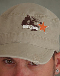 BoyStar Retro Military Castro Cap