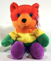Rainbow Beanie Animals