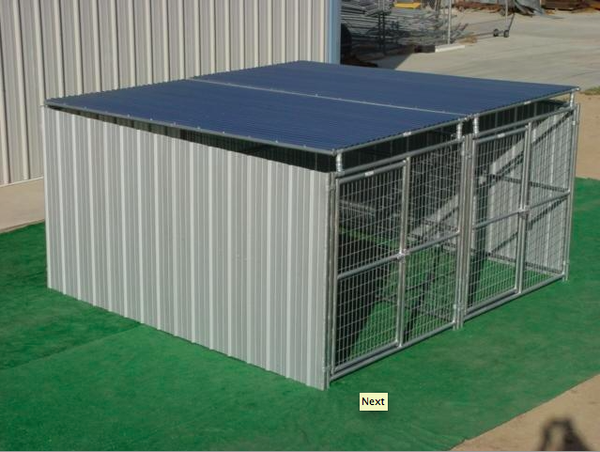 Multi Dog Outdoor Kennel