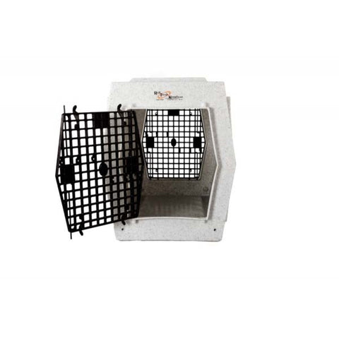 Ruff Tough Kennel Dog Crate-Large Double Door