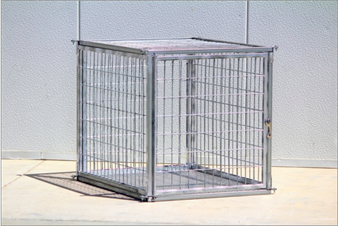 Heavy Duty Indestructible Escape-Proof Steel Dog Crate-Collapsible