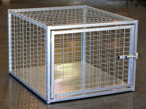 Heavy Duty Indestructible Escape-Proof Steel Dog Crate