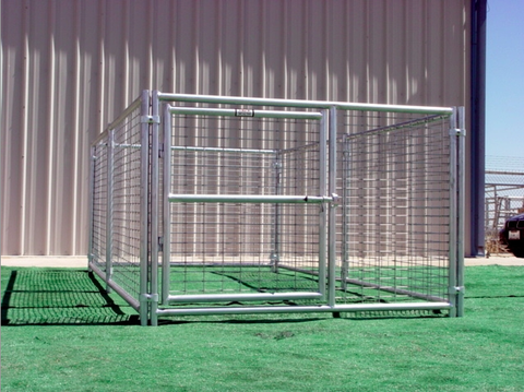 Heavy Duty Outdoor Single Run Dog Kennel