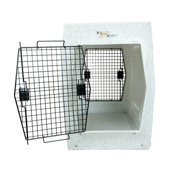 Ruff Tough Kennel Reviews >> Ruff Tough Kennel Dog Crate-Extra-Large (XL) Double Door ...