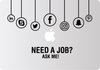 Custom Decal: Need A Job? - Freelancer at Work