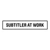 Subtitler at Work / Wide / Decal - Freelancer at Work