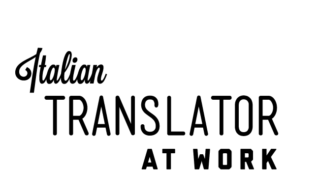 Translator Italian: Translator At Work Italian Edition
