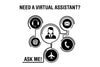 Need a virtual assistant? Ask me! / Icons2 / Decal - Freelancer at Work