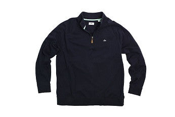 Rye Creek Quarter Zip-Classic Navy
