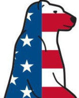 Boss Bear Sticker Americana - 1SZ