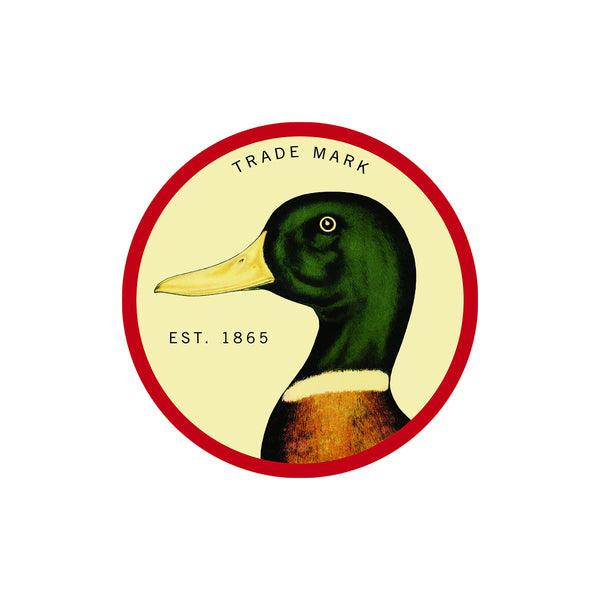 Duck Head Logo Sticker