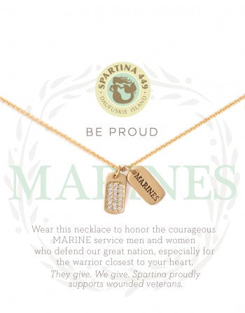Spartina 449 Sea La Vie Military Necklace Collection