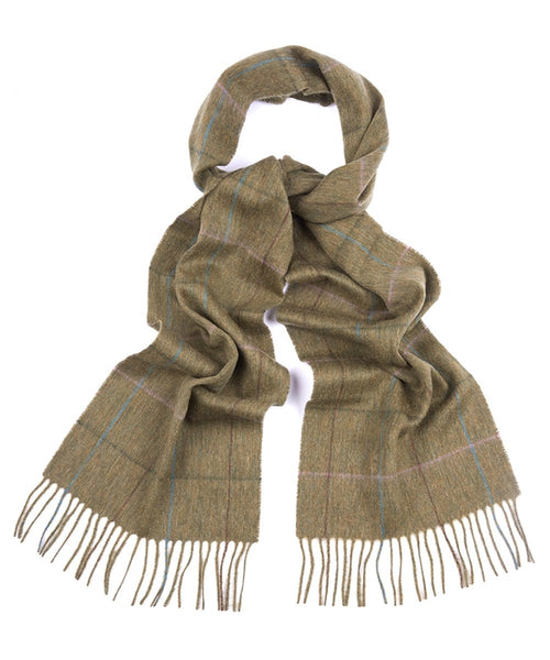 Ladies Sporting Tweed Scarf