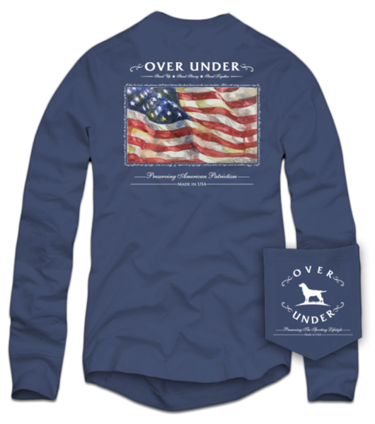 Preserve Patriotism Long Sleeve Tee