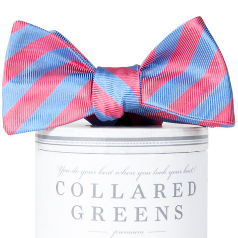 Newman Bow Tie-Salmon/Carolina