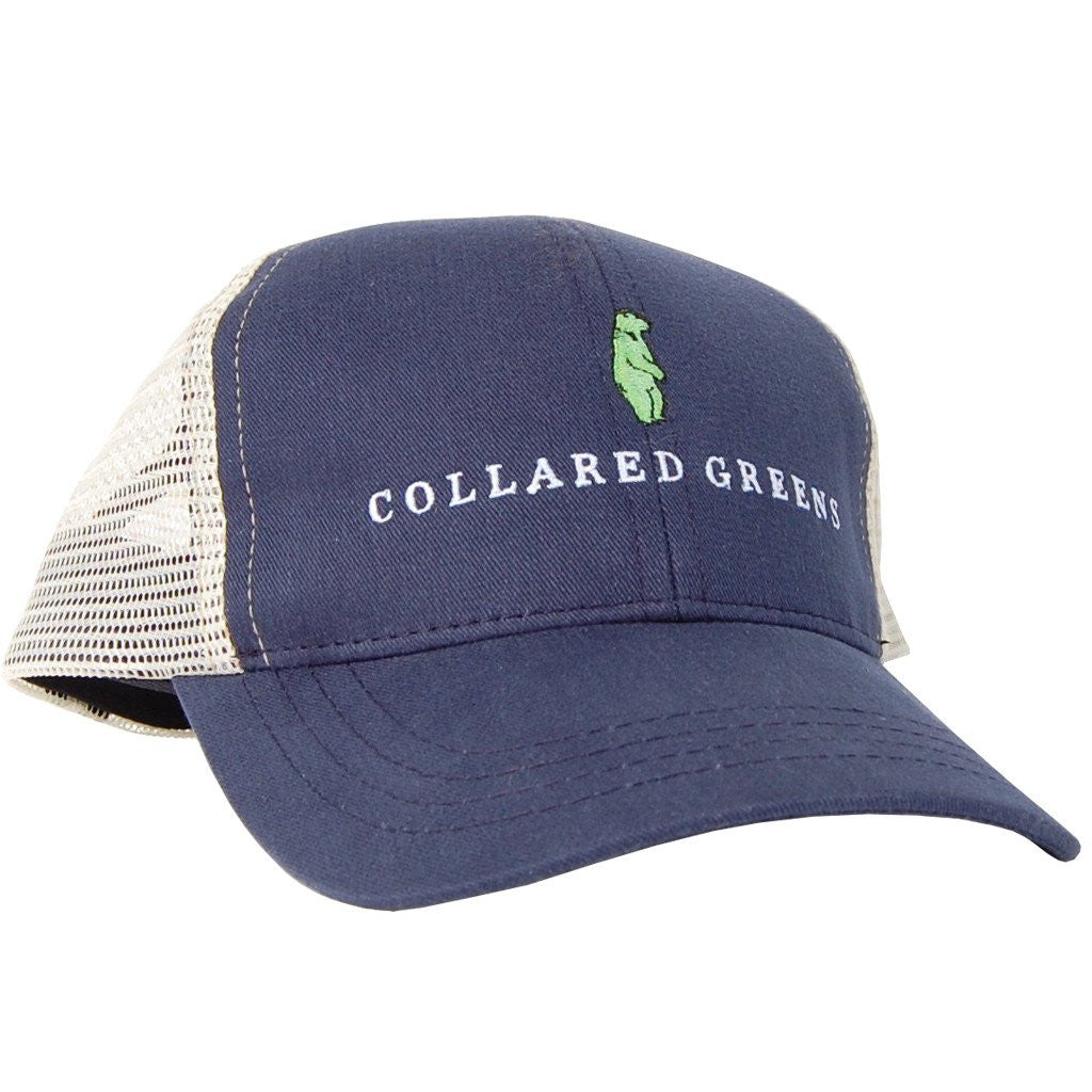 CG Trucker Hat-Navy/Khaki
