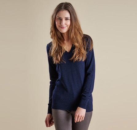 Ladies Classic V-Neck - Navy