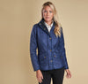 Ladies Cavalry Polarquilt Jacket - Indigo