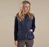Ladies Fleece Betty Liner-Navy