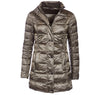 Ladies Clyde Long Quilted Jacket