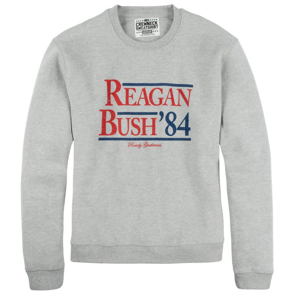 Reagan Bush '84 Sweatshirt - Grey