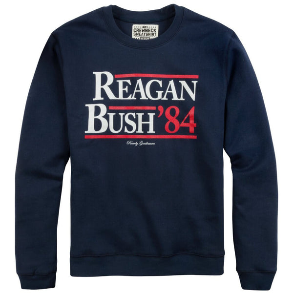 Reagan Bush '84 Sweatshirt - Navy