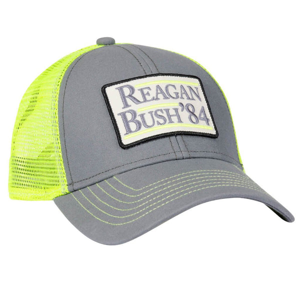 Reagan Bush Mesh Hat - Neon