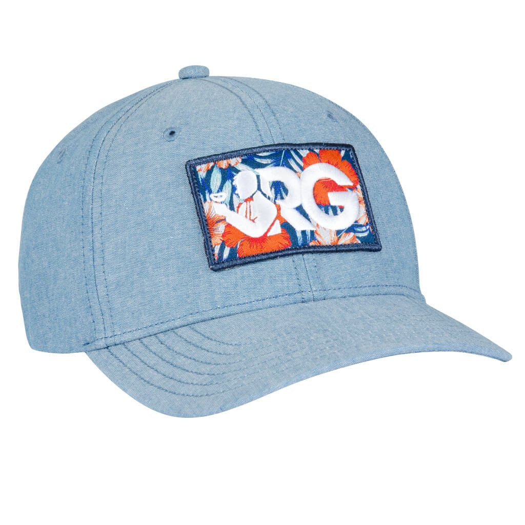 Floral Logo All-Twill Snapback Hat