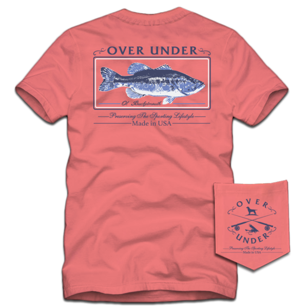 Largemouth Short Sleeve Tee - Nantucket Coral