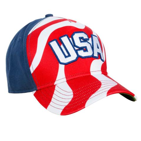 USA All-Twill Snapback Hat