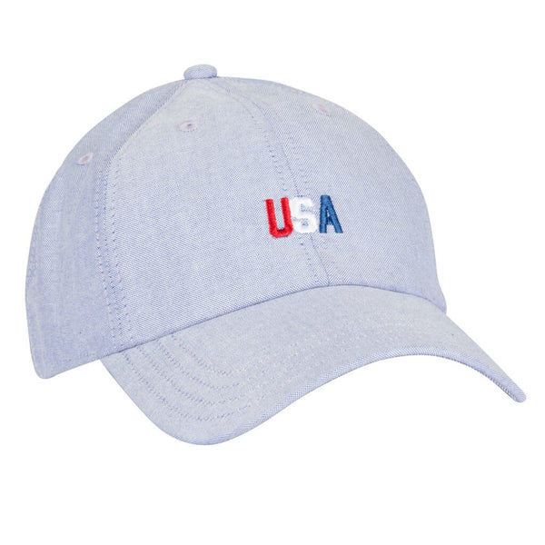 USA Tri-Color Dad Cap-One Size
