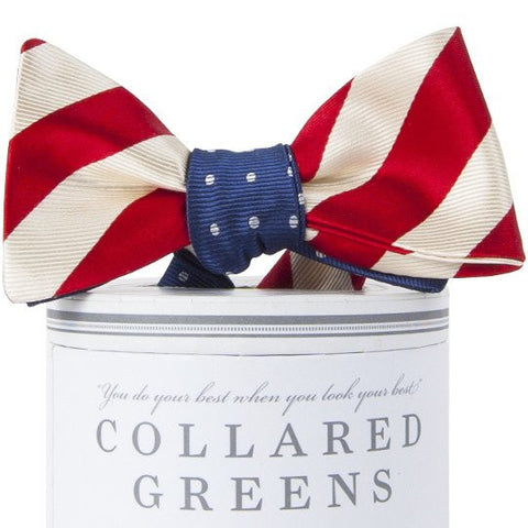Stars & Stripes Mixer Bow Tie-Red/White/Blue