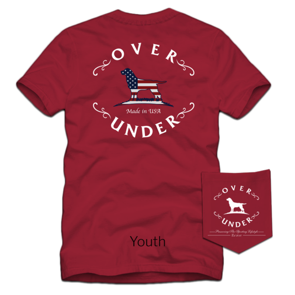 Youth Flag Logo Short Sleeve Tee
